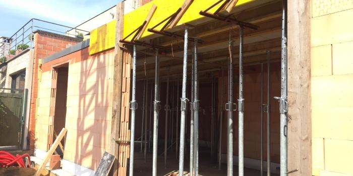 Stelwerk voor betonwerken